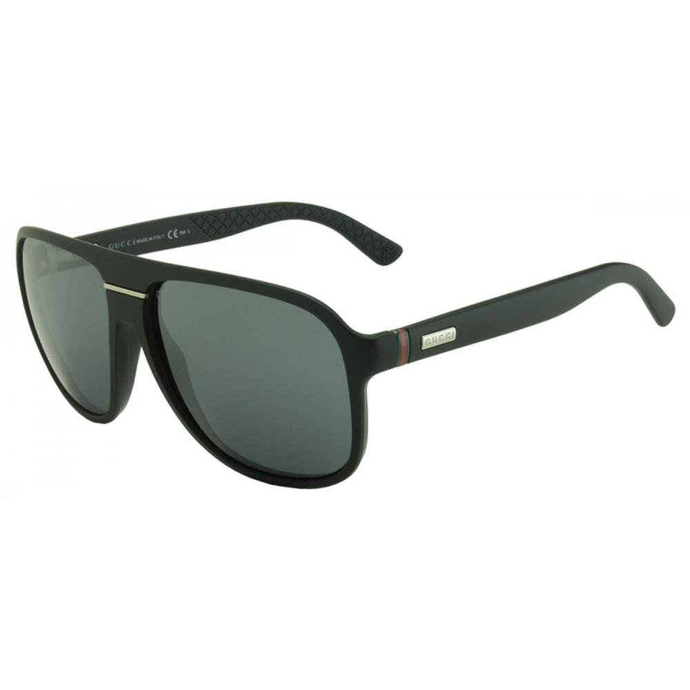 GG1076NS DL5 Matte Black Aviator Men's Sunglasses