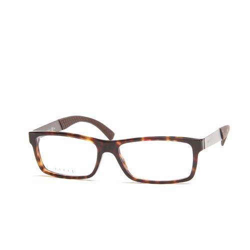 Havana Brown And Ruthenium Eyeglasses