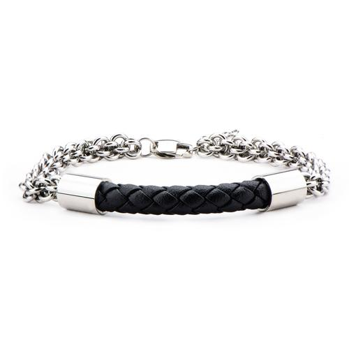 Men's Stainless Steel Double Rolo Chain