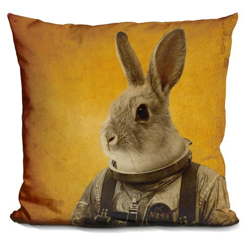 Durro Art 'Ready to flight' Throw Pillow
