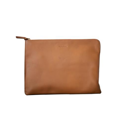 Recharging Leather Portfolio Bag