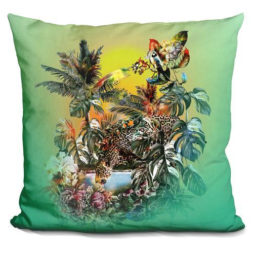 Riza Peker 'Wall' Throw Pillow