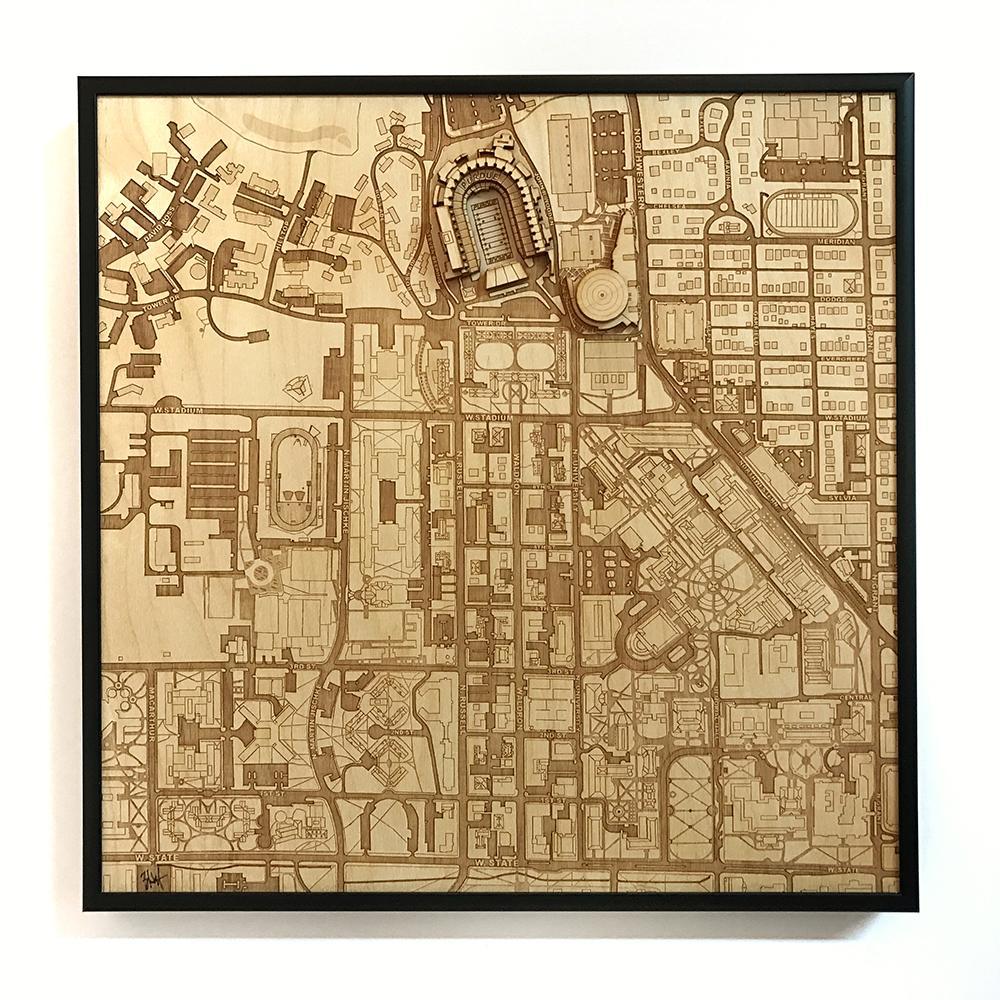 3D Stadium Maps | West Lafayette, IN