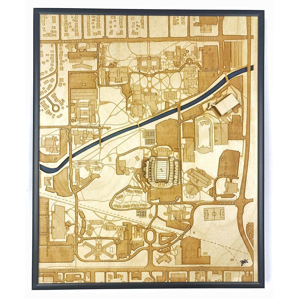 3D Stadium Maps |  Toledo, OH