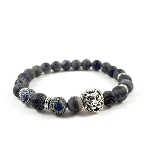 Weathered Marble Lion Bracelet
