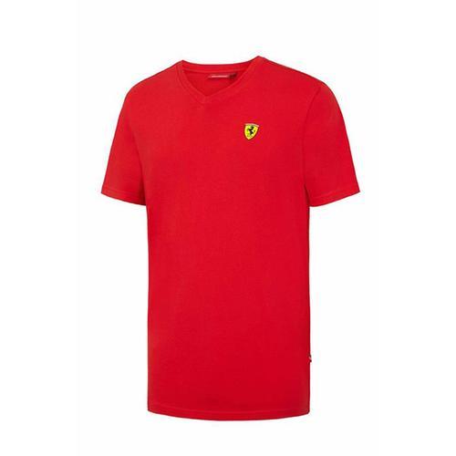 Scuderia Ferrari V-Neck T-Shirt Mens