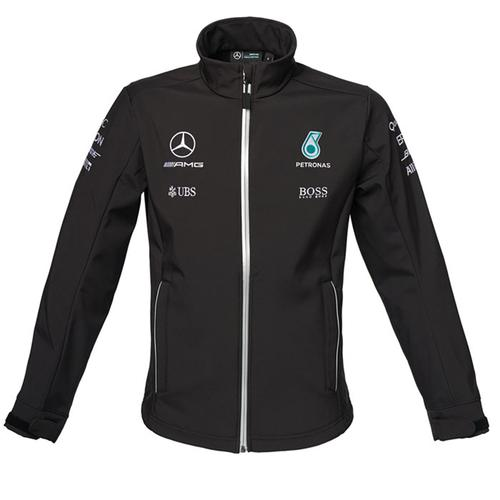 Mercedes Amg Petronas Team Softshell Jacket 2017
