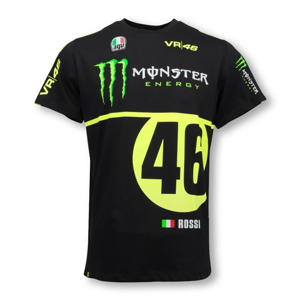 valentino rossi monster t shirt mens 2016 replica moto gp. Black Bedroom Furniture Sets. Home Design Ideas