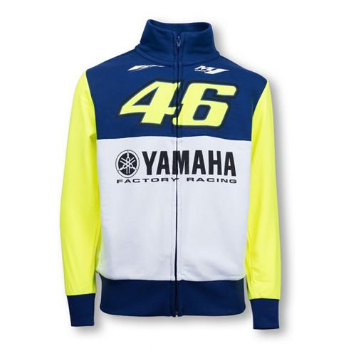 YAMAHA VALENTINO ROSSI ZIP UP HOODIE JUNIOR| Moto GP Apparel
