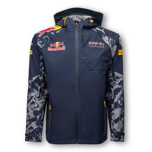 RED BULL RACING TEAM RAIN JACKET MENS 2016 REPLICA