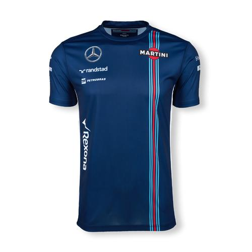 WILLIAMS MARTINI RACING T-SHIRT MENS 2016 REPLICA