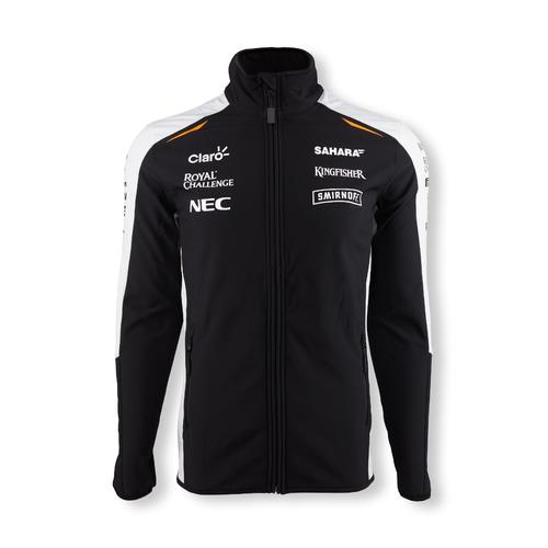 FORCE INDIA SOFT SHELL JACKET MENS 2016 REPLICA
