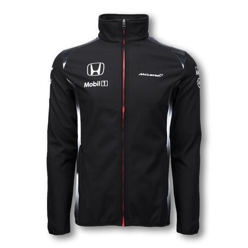 MCLAREN HONDA TEAM SOFTSHELL JACKET MENS 2016 REPLICA