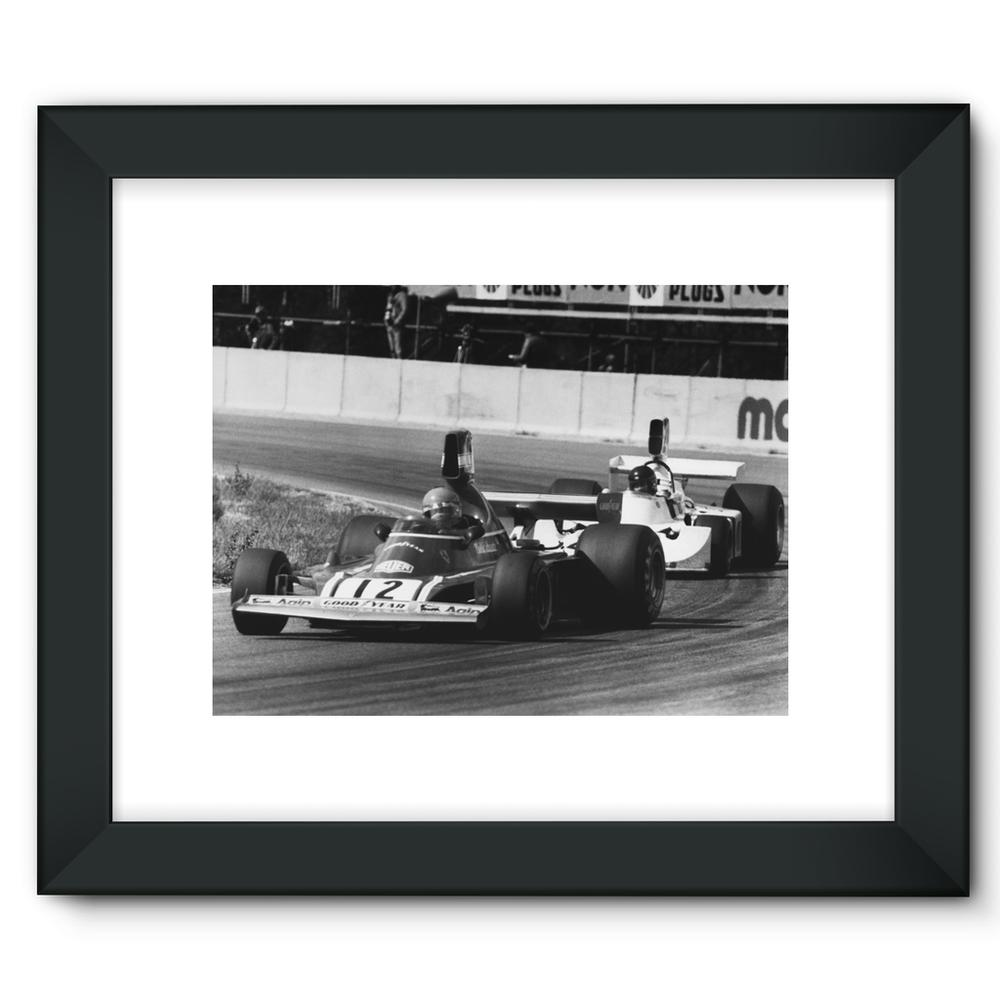 Niki Lauda AND James Hunt - 1974 | Motorstore Gallery