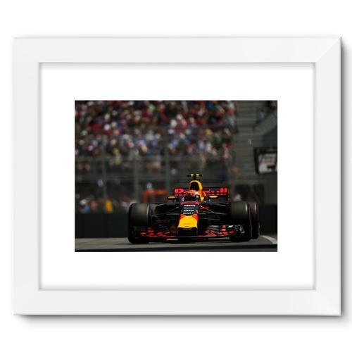 Max Verstappen, Red Bull Racing RB13 | White